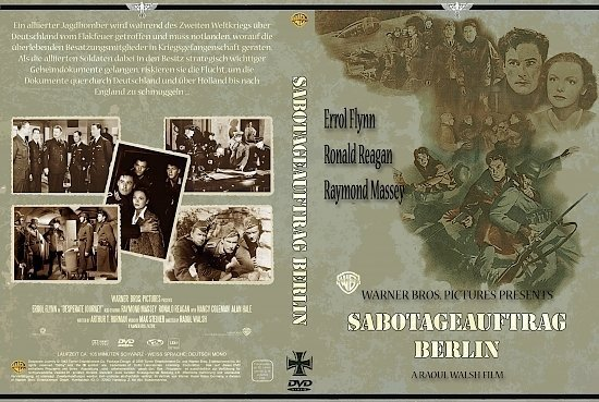 dvd cover Sabotageauftrag Berlin (1942) R2 German