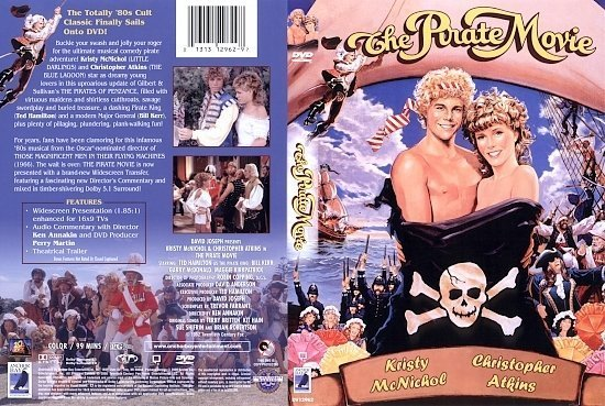dvd cover The Pirate Movie (1982) R1