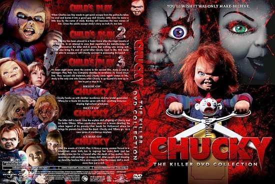 dvd cover Chucky Killer Collection