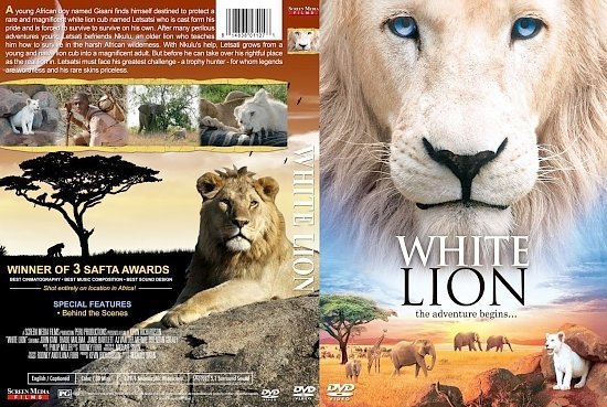dvd cover White Lion