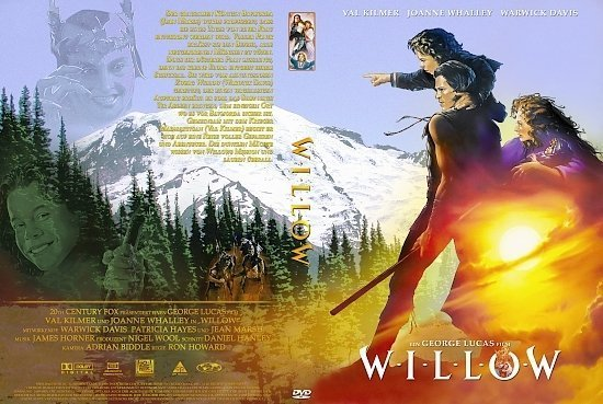 dvd cover Willow (1988) R2 German