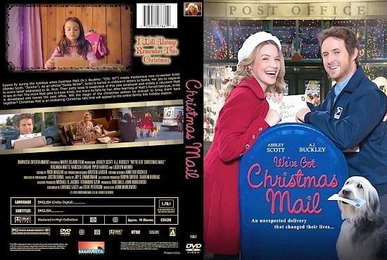 dvd cover Christmas Mail 2010 R1 CUSTOM cover