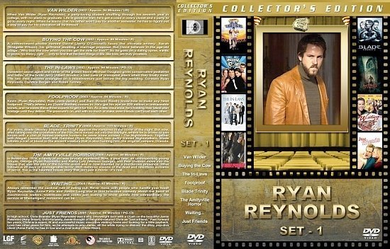 dvd cover Ryan Reynolds Collection
