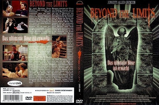 dvd cover Beyond the Limits (2003) R2 German