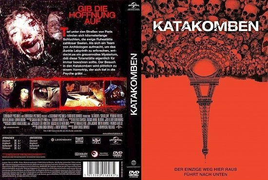 dvd cover Katakomben R2 GERMAN