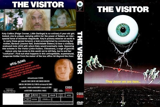 dvd cover The Visitor