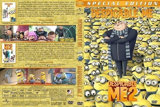 dvd cover Despicable Me Double