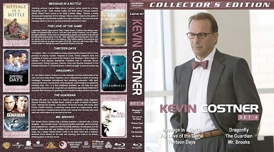 dvd cover Kevin Costner Collection Set 4
