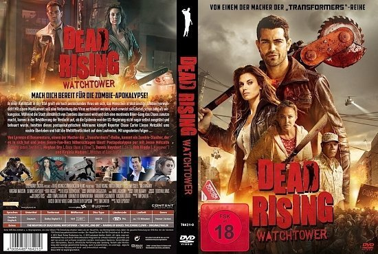 dvd cover Dead Rising Watchtower R2 GERMAN