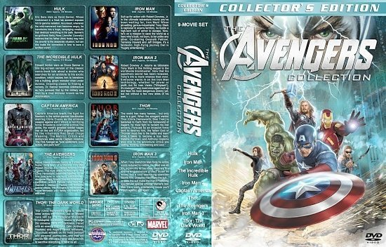 dvd cover Avengers Collection 9