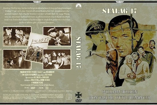 dvd cover Stalag 17 (1953) R2 German