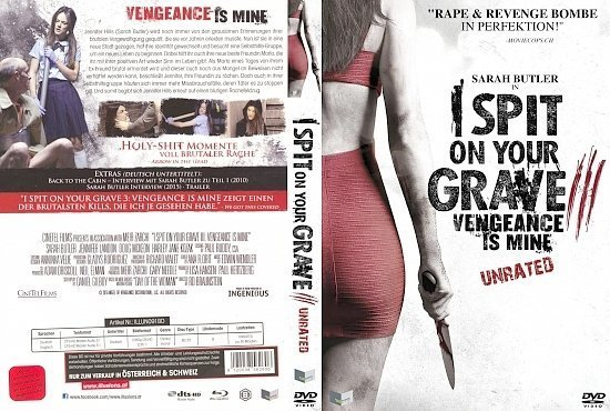 dvd cover I spit on your Grave 3 R2 GERMAN