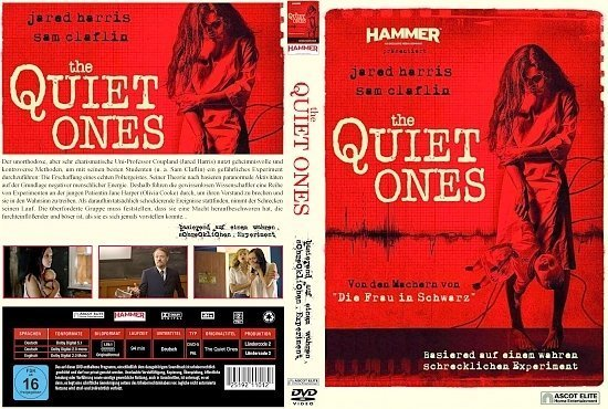 dvd cover The Quiet Ones R2 GERMAN