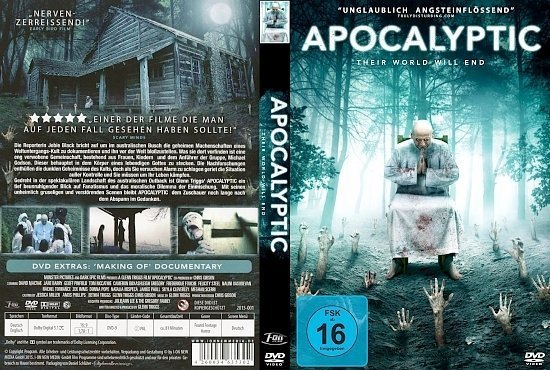dvd cover Apocalyptic: Their World will end R2 GERMAN