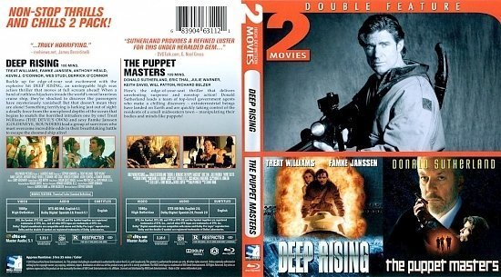 dvd cover Deep Rising/The Puppet Masters