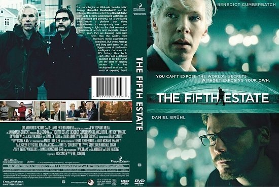 dvd cover The Fifth Estate