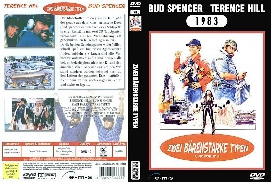 dvd cover Zwei bärenstarke Typen (Bud Spencer & Terence Hill Collection) (1983) R2 German