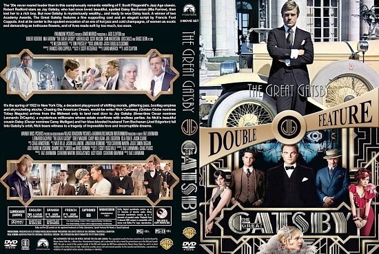 dvd cover Gatsby Double