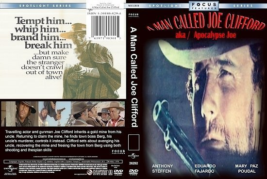 dvd cover A Man Called Joe Clifford (1970) R1