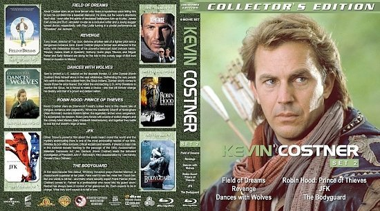 dvd cover Kevin Costner Collection Set 2