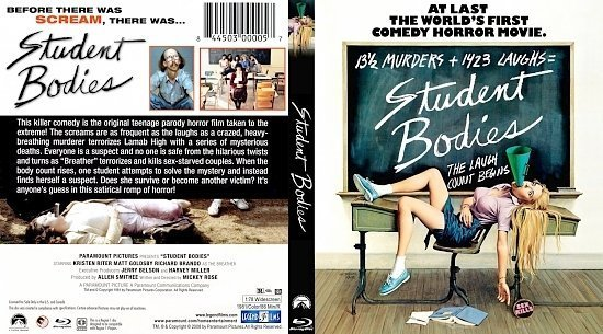 dvd cover Student Bodies