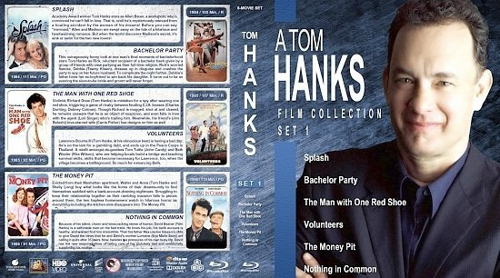 dvd cover Tom Hanks Collection Set 1