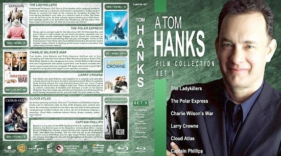 dvd cover Tom Hanks Collection Set 5