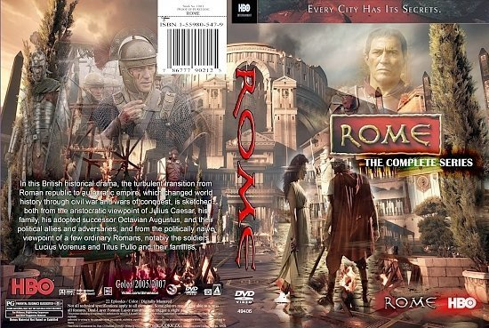 dvd cover Rome Series (2009) R0