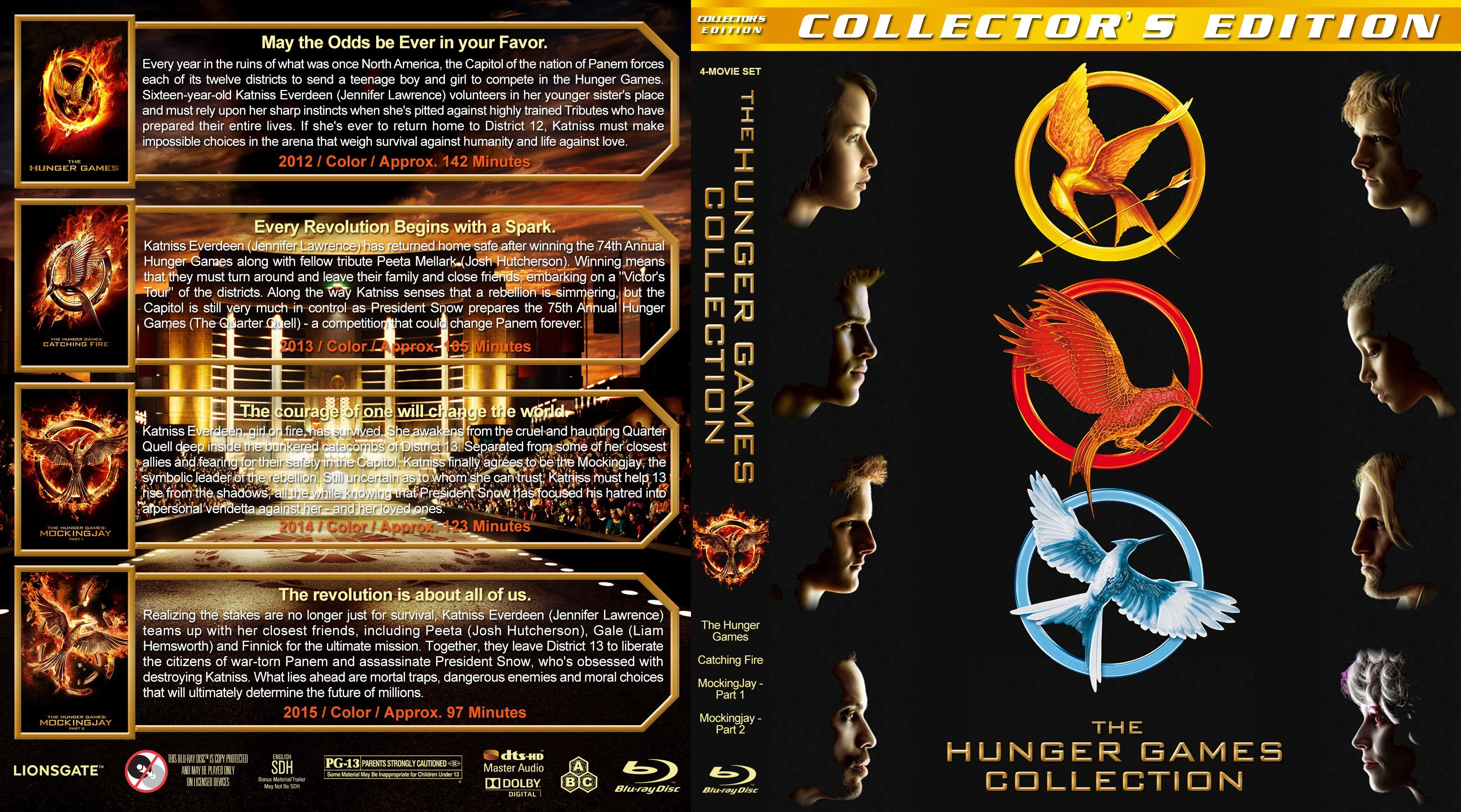 The Hunger Games Literature  TV Tropes