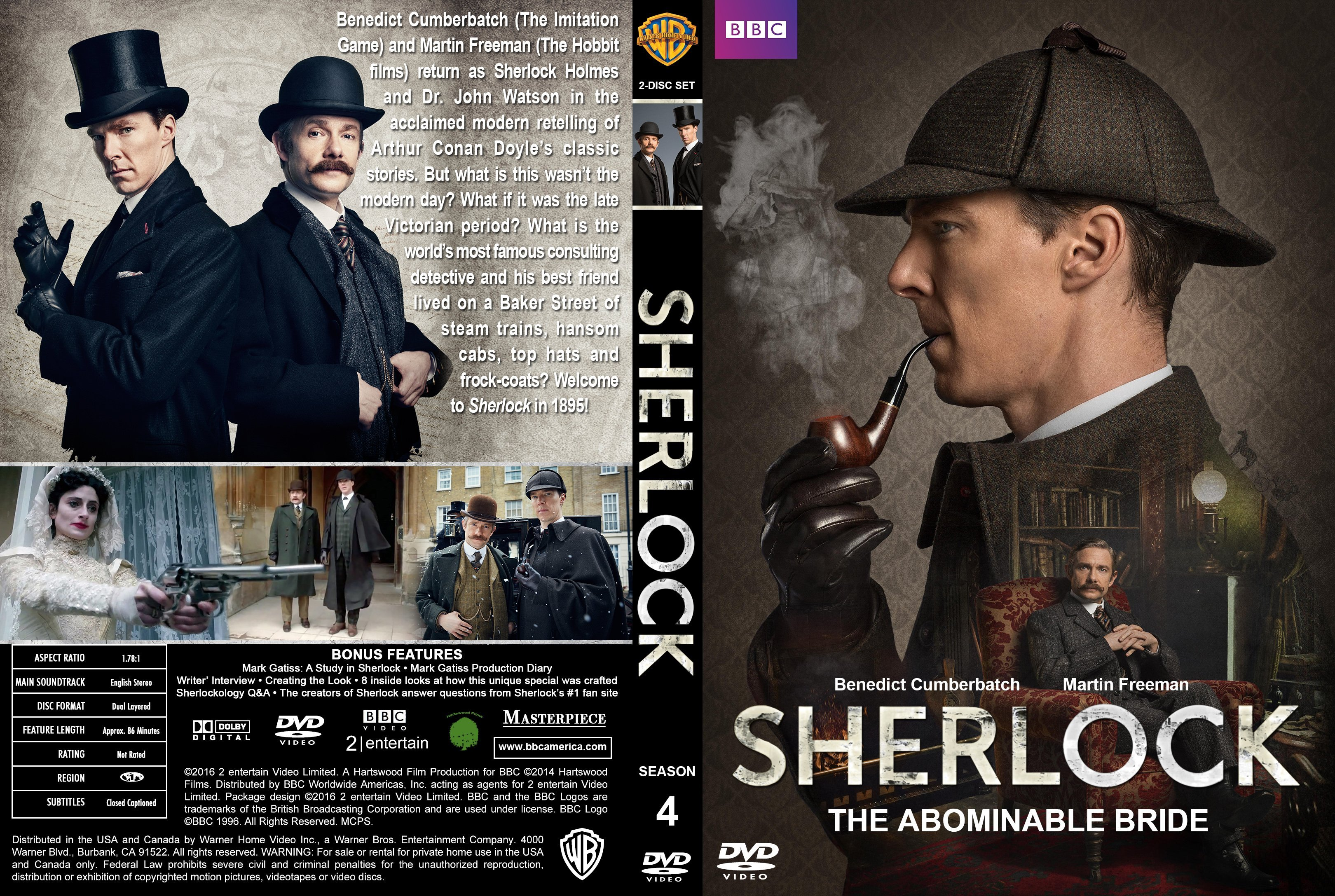 Sherlock The Abominable Bride 2016 R1 Custom Cover