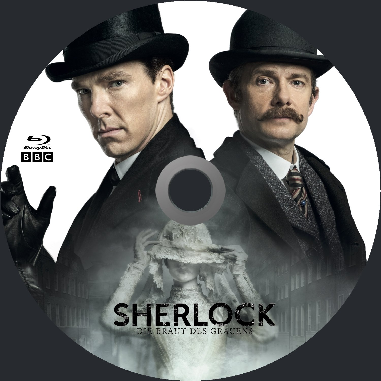 Sherlock – Die Braut des Grauens R2 Blu-Ray German Custom Cover ...