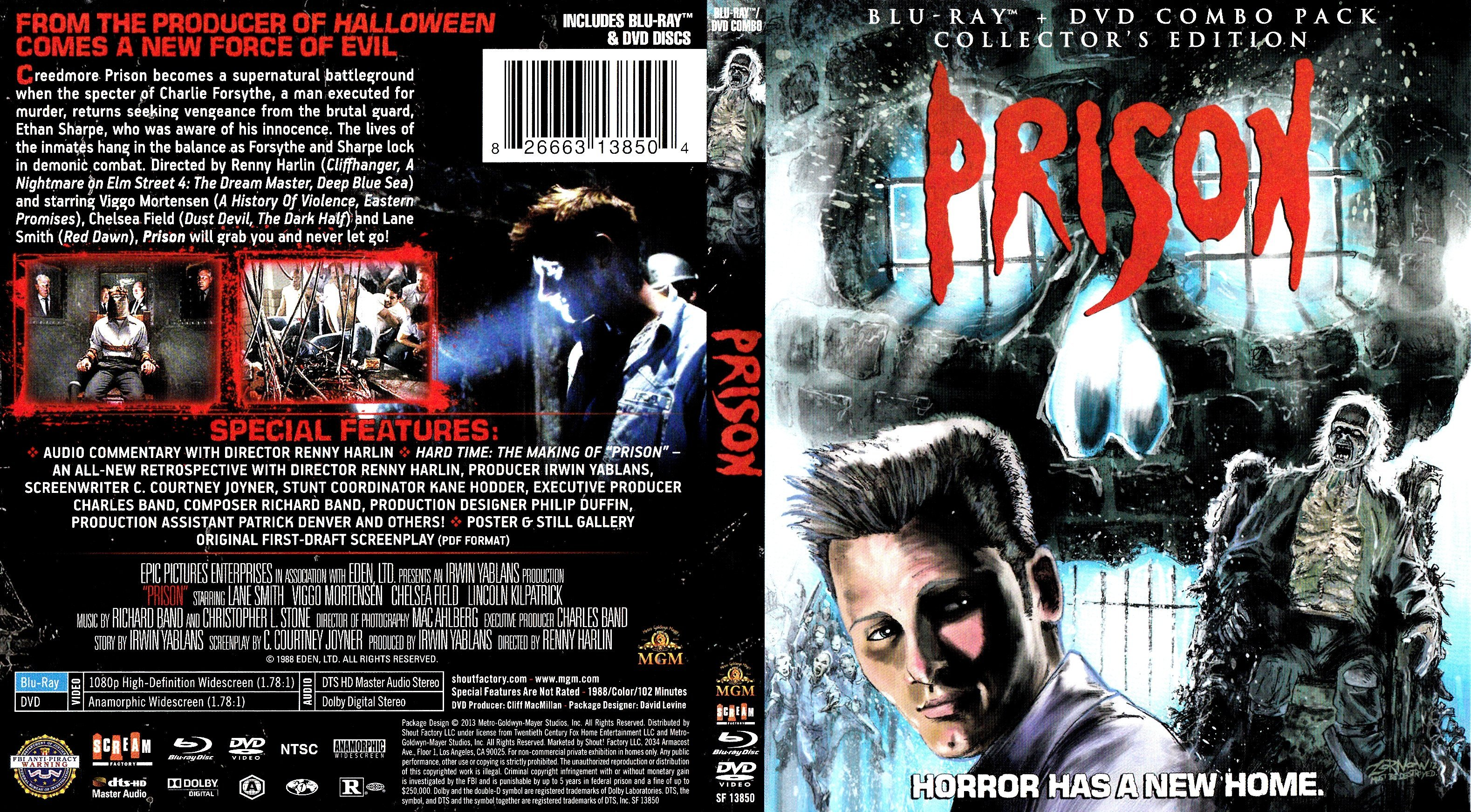 prison 1987 r1 blu ray cover label dvd covers and labels. Black Bedroom Furniture Sets. Home Design Ideas