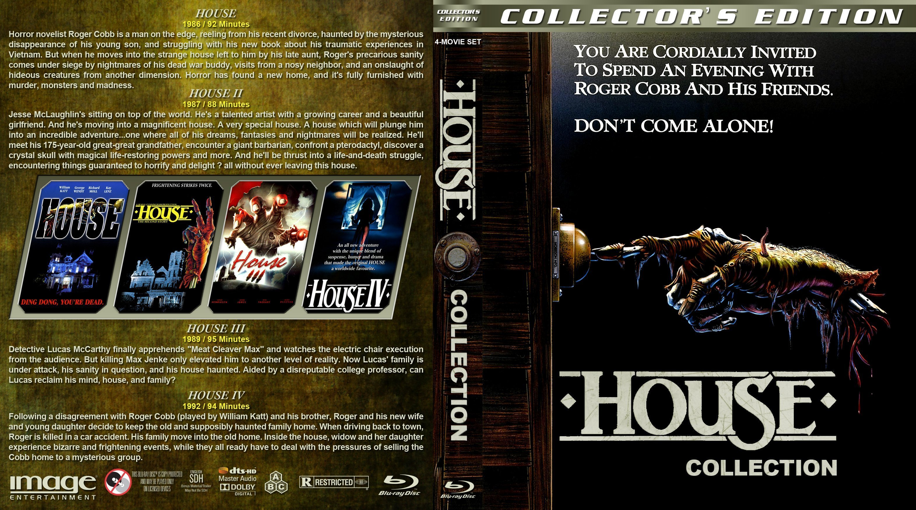 House collection 1986 1992 r1 custom blu ray cover dvd for House music 1986