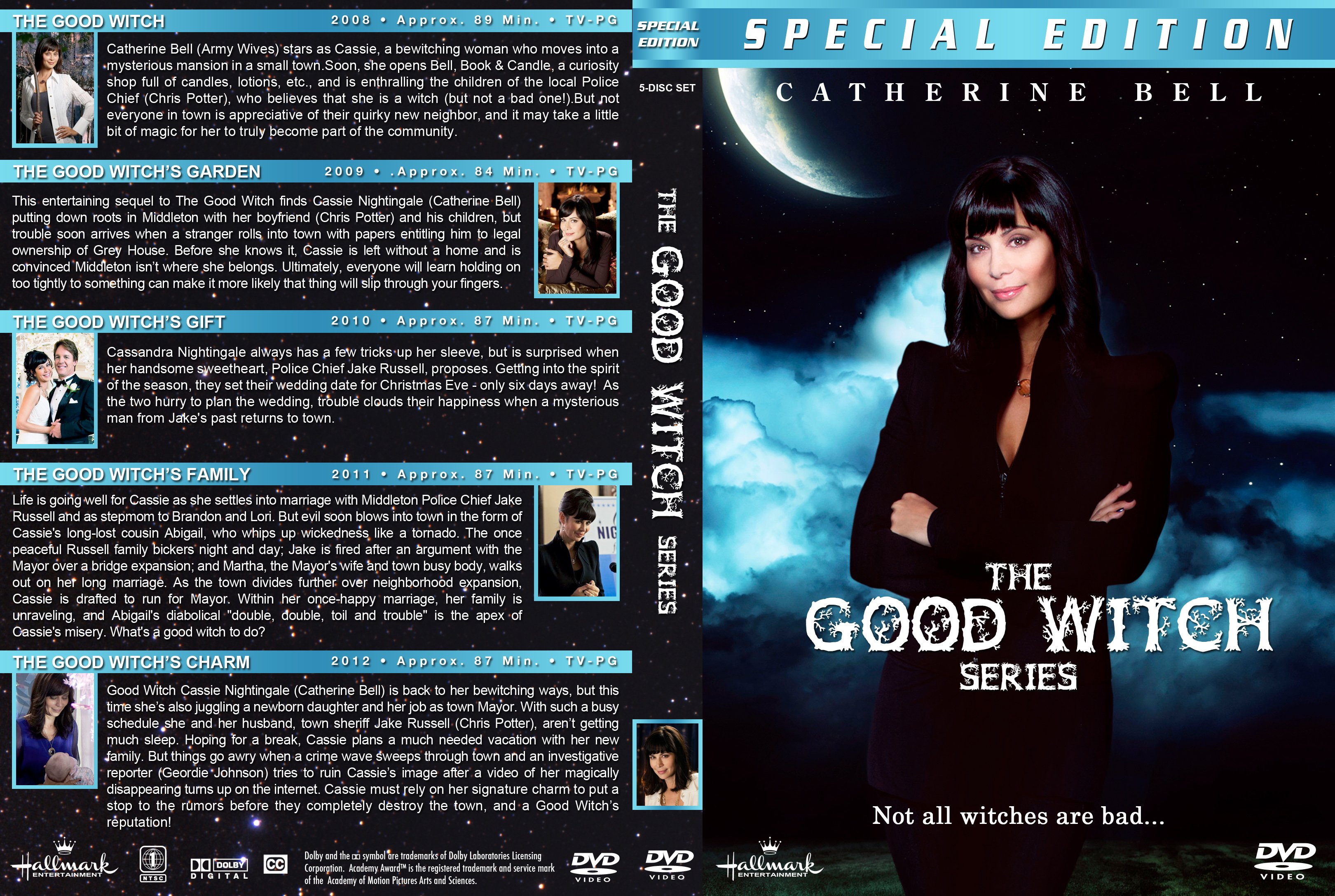 The Good Witch Series (5) (2008-) R1 Custom Cover | Dvd