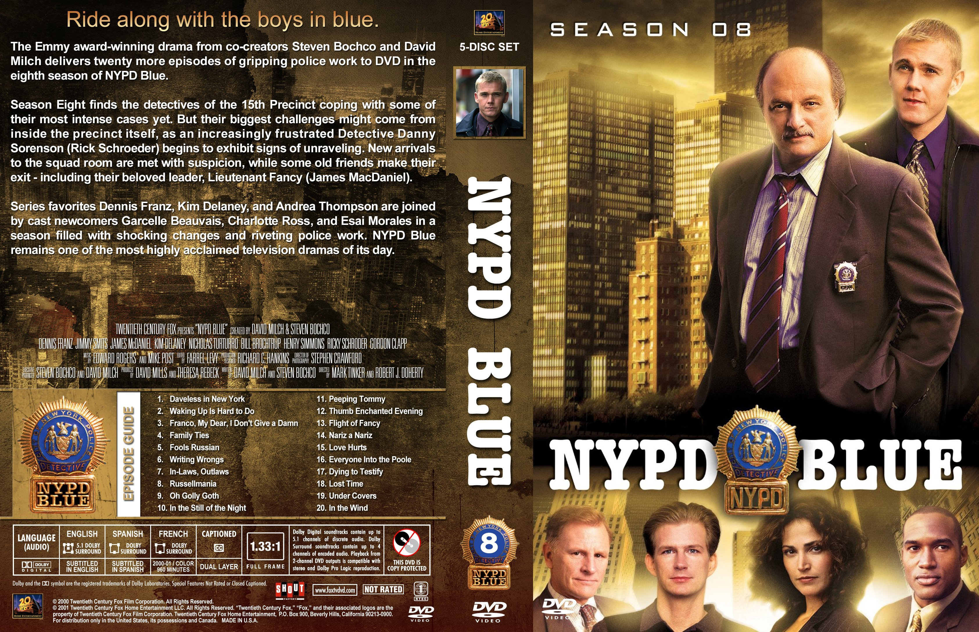 an socio anthropological analysis of six tv shows including nypd blue The sexual proclivities of between the six characters of was homeless as sex is used as currency on the streets according to tv shows that appear on.