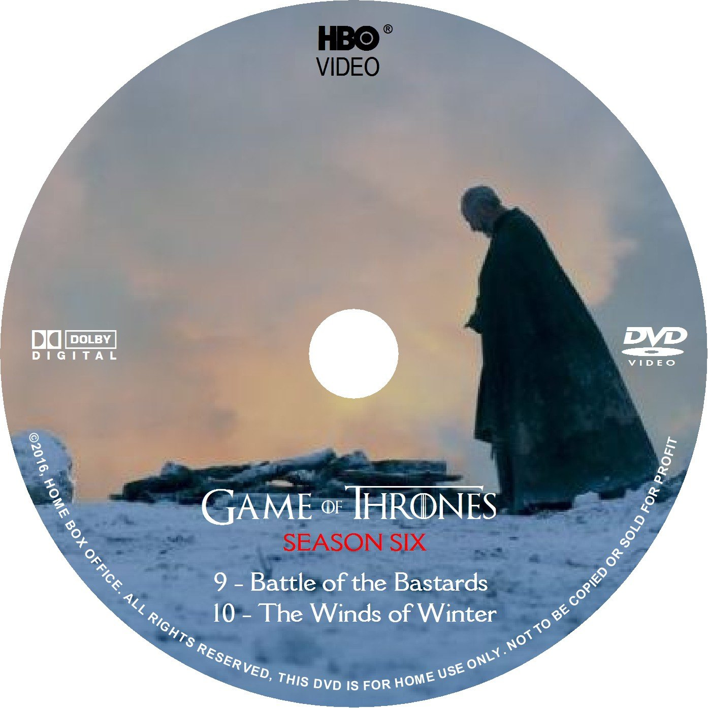 games of thrones dvd