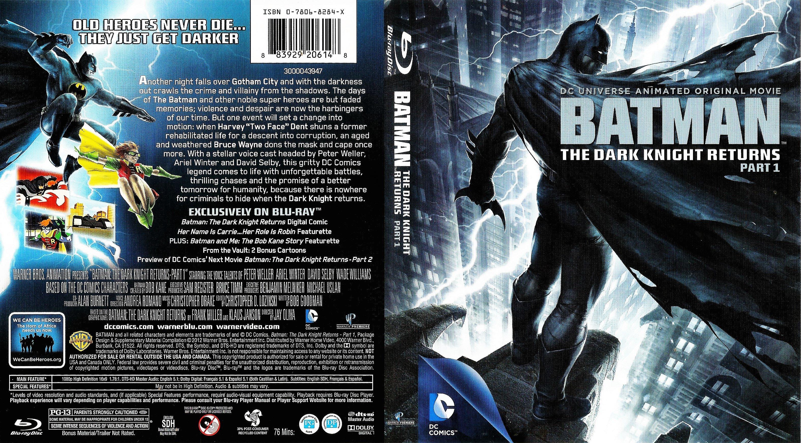 batman the dark knight returns part 1 bluray cover dvd
