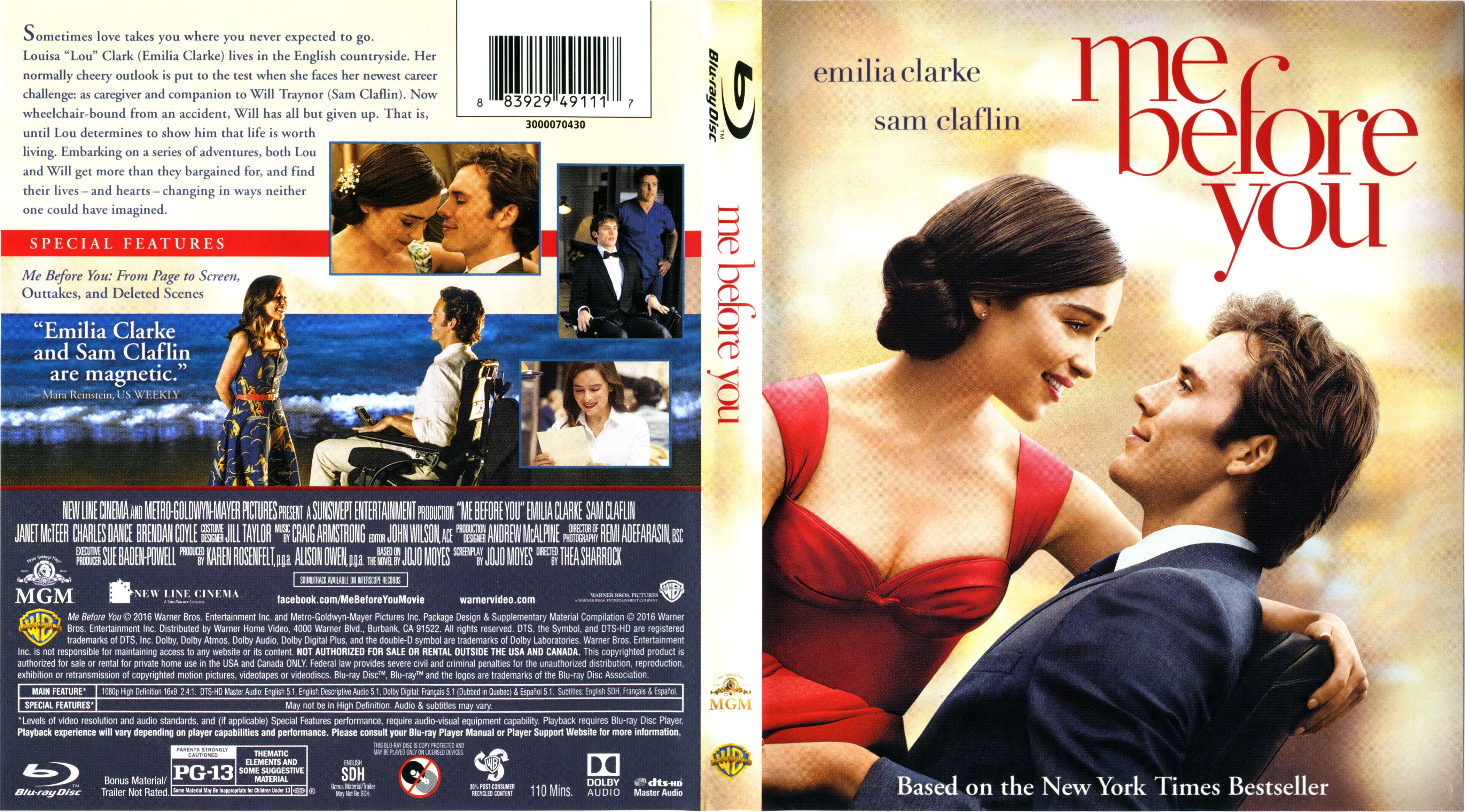 Me Before You 2016 Blu Ray Cover Label Dvd Covers And Labels