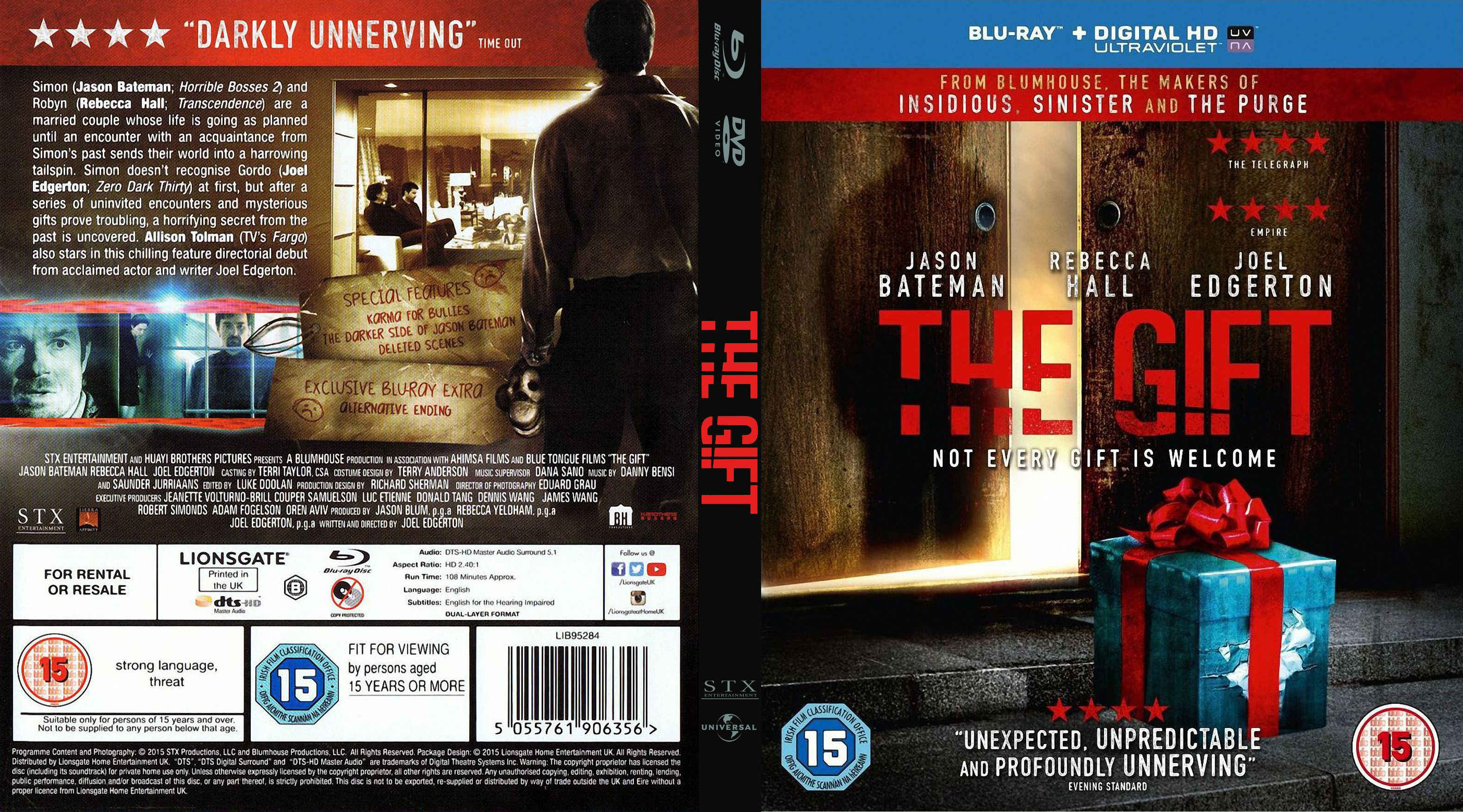 The Gift R2 Custom Blu-Ray Covers | Dvd Covers and Labels