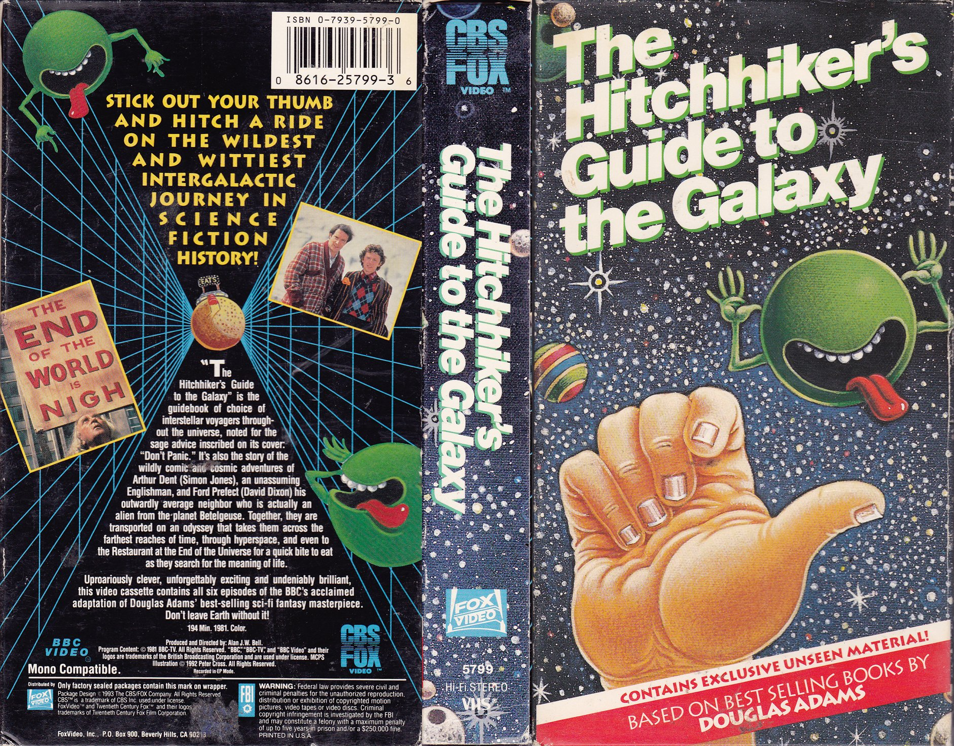 an analysis of the hitch hikers guide to the galaxy