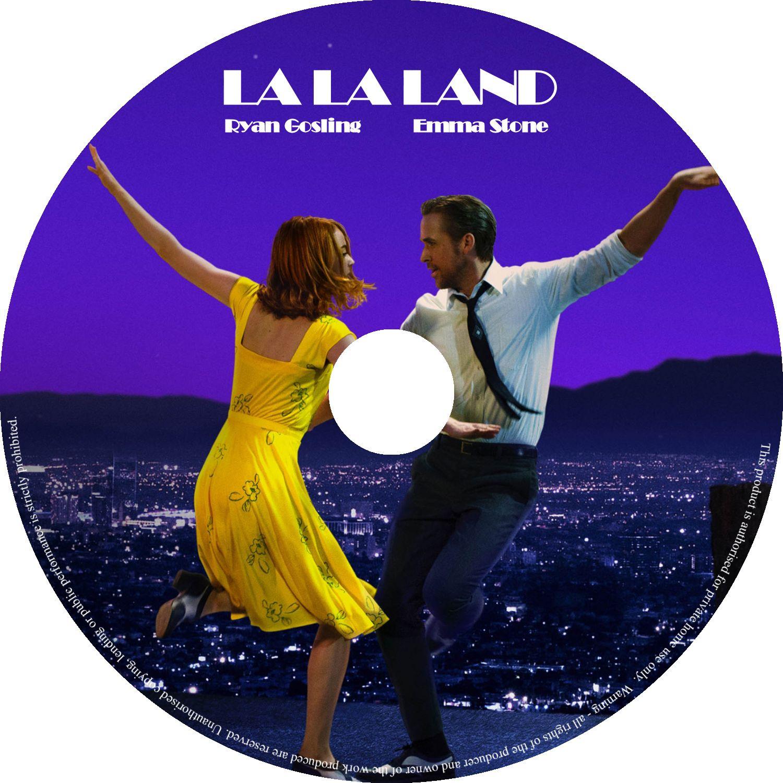 La La Land 2016 R0 Custom Cover Label Dvd Covers And Labels