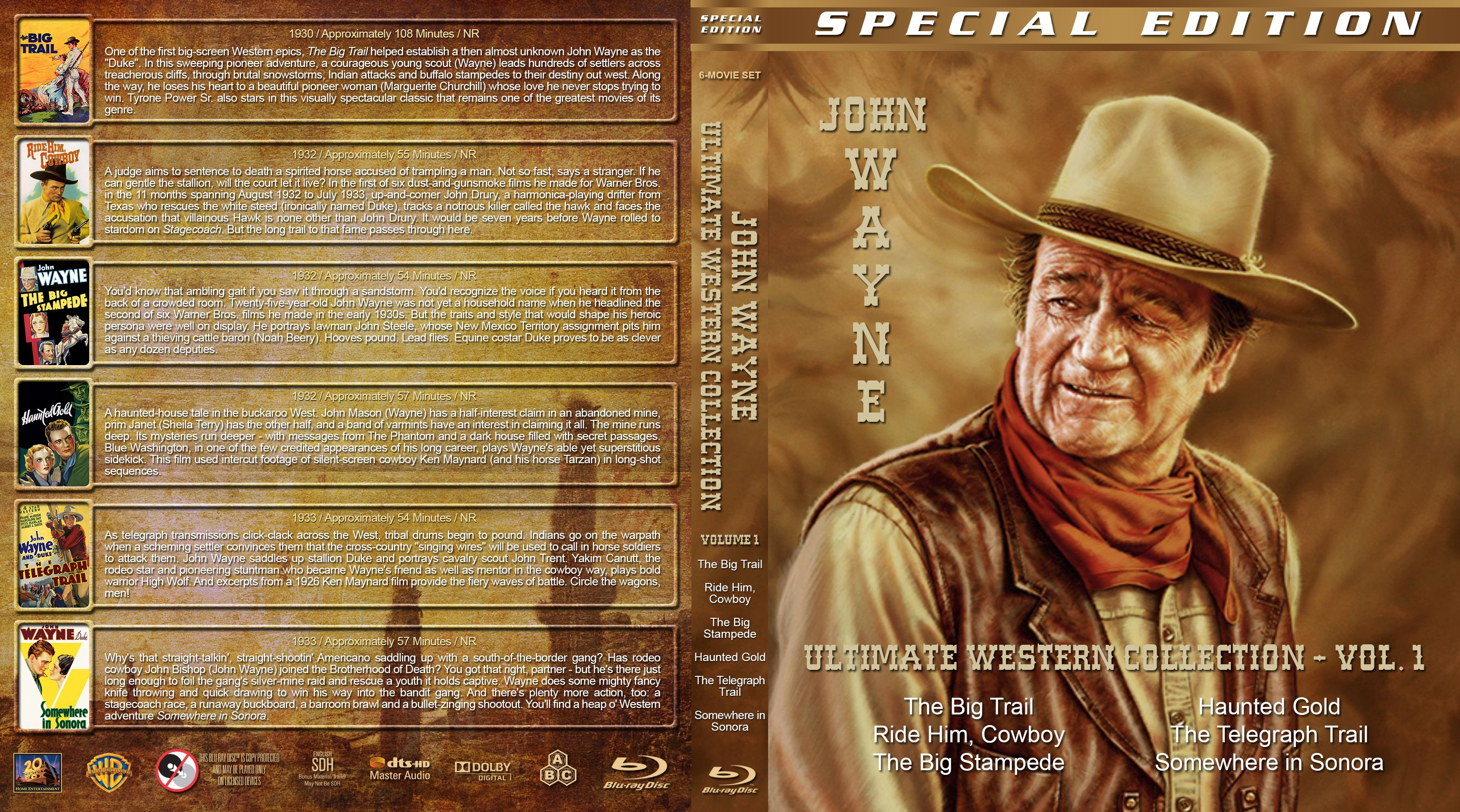 the similarities in the characters of john wayne and billy the kid