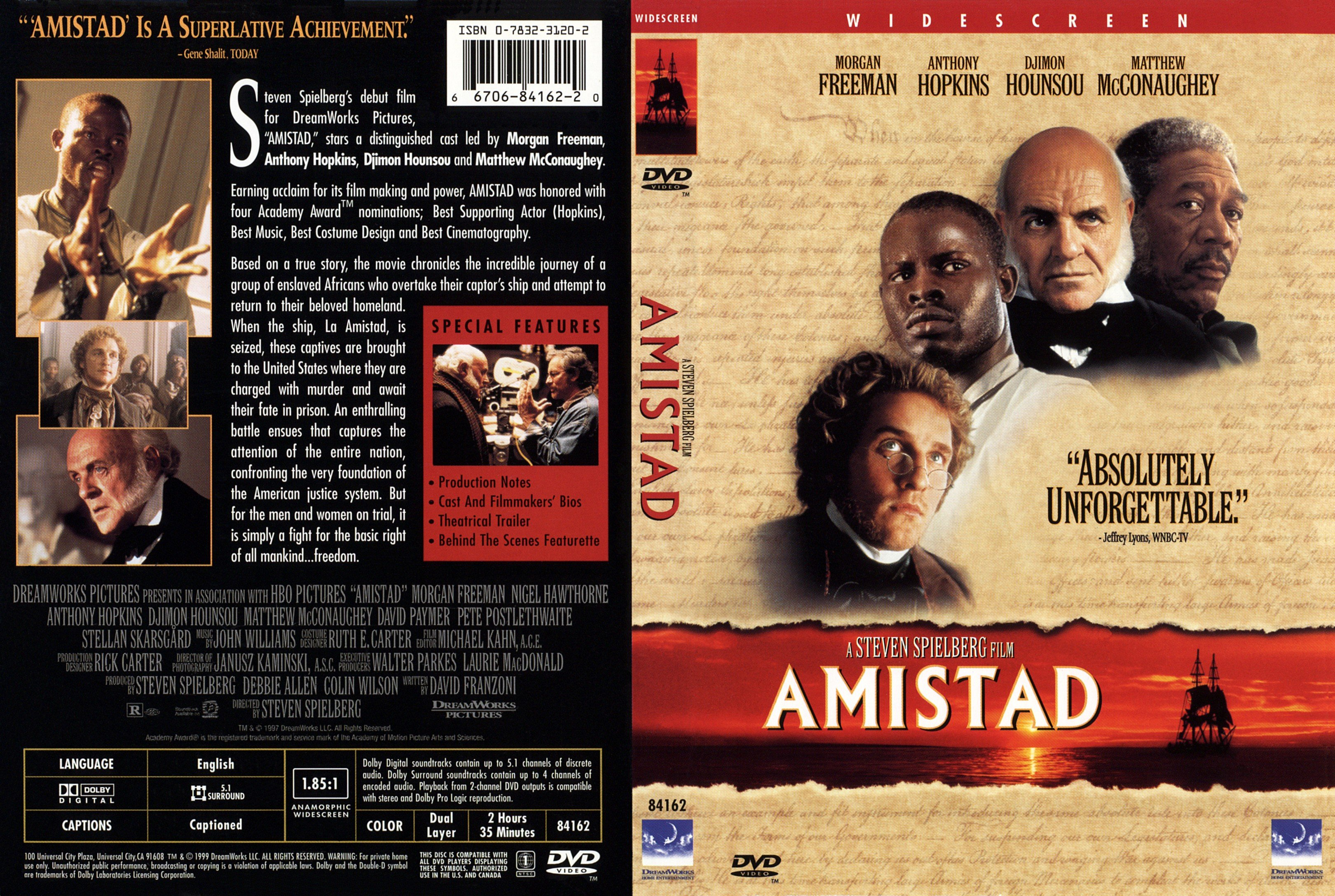 an analysis of the 4 star film amistad