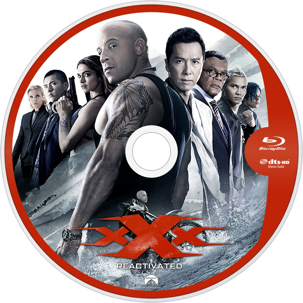 Xxx Return Of Xander Cage 2017 R1 Custom Blu Ray Label Dvd Covers And Labels
