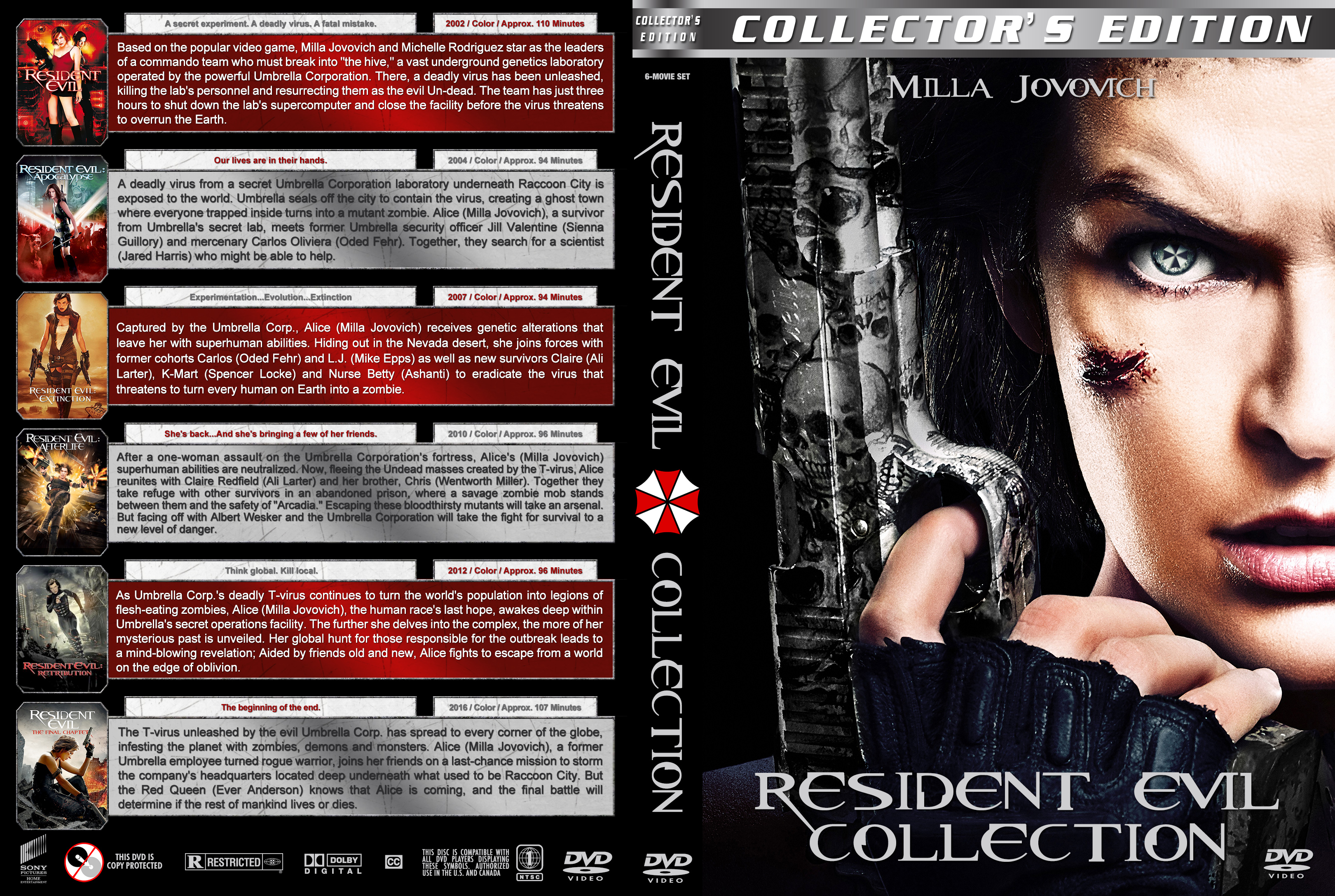 Resident Evil Collection Cover