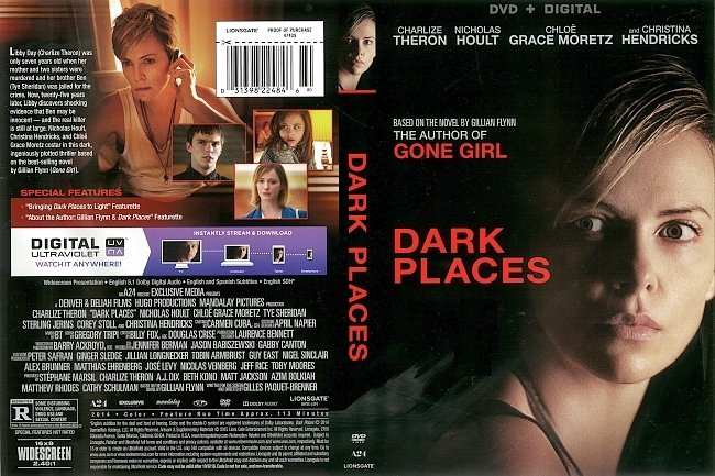 dvd cover Dark Places (2014) R1 DVD Cover