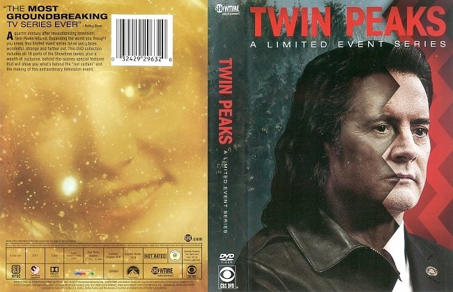 dvd cover Twin Peaks (2017) R1 DVD Cover