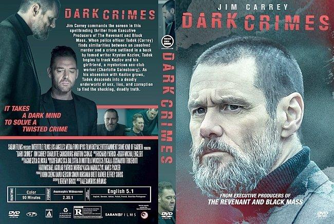 dvd cover Dark Crimes (2016) R1 Custom DVD Cover