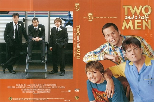 dvd cover Two and a Half Men Season 5 (2009) R1 DVD Cover