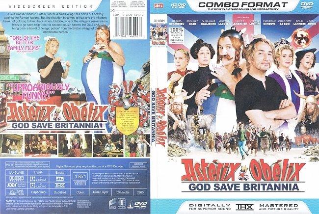 dvd cover Asterix & Obelix God Save Britannia (2013) WS R1